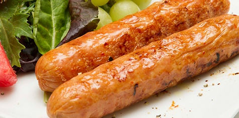 Organic Fully Cooked Hot Smoked Chicken Sausage