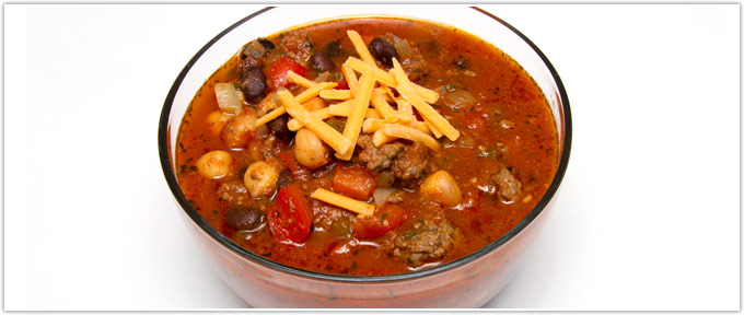 Beef Chili With Chick Peas