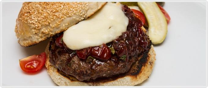 Piedmontese Com Caprese Burger Recipe