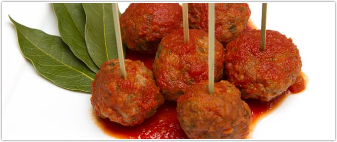 Certified Piedmontese Stuffed Meatballs In Red Sauce