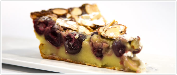 Cherry-Almond Clafoutis