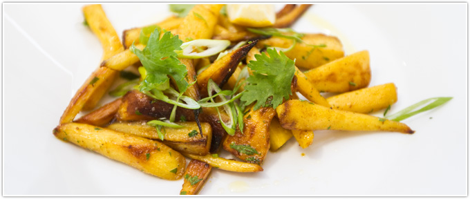 Curried Parsnips