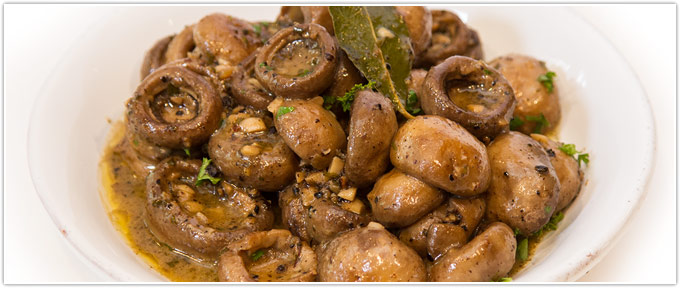 Garlic-Roasted Mushrooms