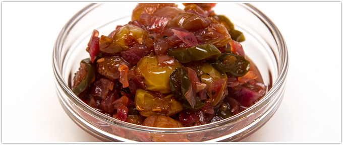 Grape Jalapeno Chutney