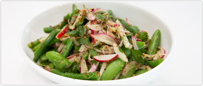 Green Bean & Radish Salad