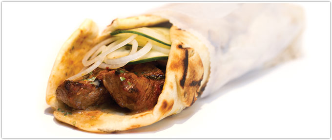 Grilled Steak Wrap