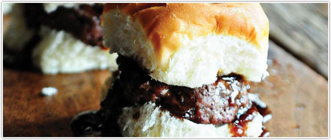Juicy Grilled Sliders With Tangy Sweet Sauce