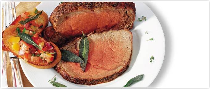Piedmontese.com   Peppercorn-Crusted Rib Roast Recipe