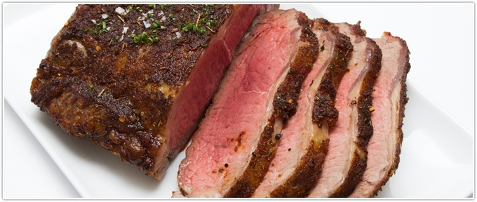 Simply Roasted Boneless Beef Strip Loin