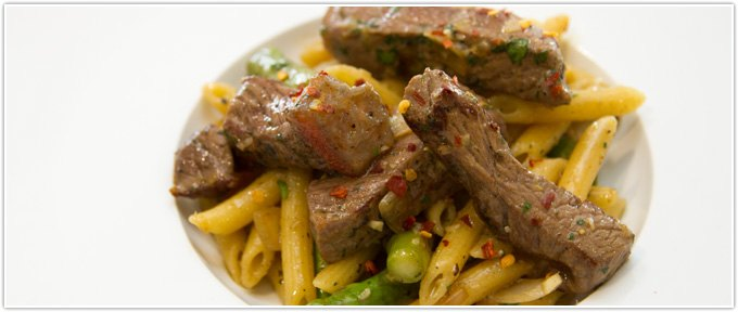 Steak Gremolata Pasta