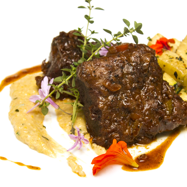 Coffee-Braised Short Ribs Recipe — Dishmaps