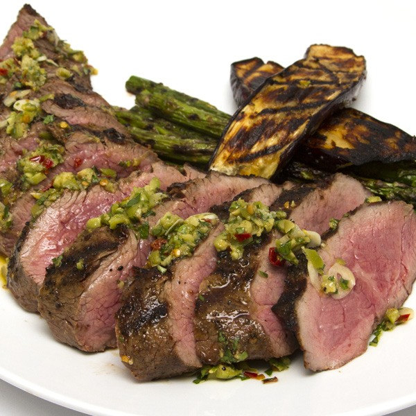 Piedmontese.com | Grilled Tri-Tip With Olive & Chile Salsa ...