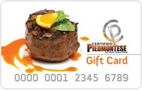 Certified Piedmontese Gift Cards